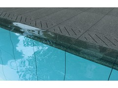 Borde para piscina de gres TYPE C - bordo vasca - GranitiFiandre