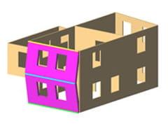 Calcolo edificio in muratura e misto3Muri Meccanismi locali - S.T.A. DATA