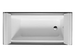 - Rectangular bathtub on legs SUNDECK | Bathtub on legs - DURAVIT