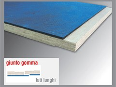 - Sound insulation and sound absorbing panel in mineral fibre MASSACUSTIC GUM 4 - Thermak by MATCO