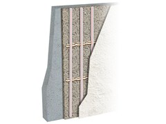Pannello radiante a parete in fibra di legnoECOWALL - EUROTHERM