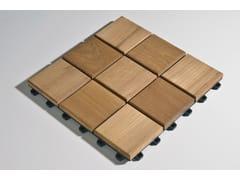 - Wooden decking Larideck® Mosaic - BELLOTTI