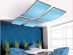 Acoustic ceiling clouds THERMATEX SONIC - Knauf AMF Italia Controsoffitti