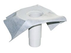 - Roof drain straight telescopic with non-woven sheet LIQUID STRAIGHT TELESCOPIC - ETERNO IVICA