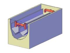 Vasca di sedimentazione per impianto di scaricoSedimentatori e digestori - F.LLI ABAGNALE