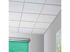 Pannelli per controsoffitto acustico in fibra mineraleSABBIA - ARMSTRONG BUILDING PRODUCTS