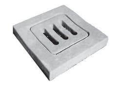 Coperchio grigliato per pozzettoCoperchio grigliato per pozzetto - F.LLI ABAGNALE