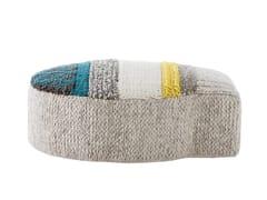 - Wool pouf GLOBO | Pouf - GAN By Gandia Blasco