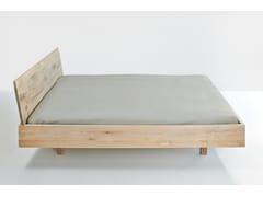 - Letto matrimoniale in legno massello QUADRA - vitamin design