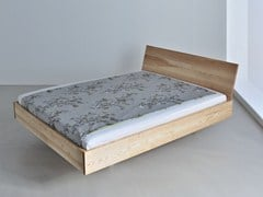 Wooden double bed QUADRA - Vitamin design