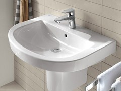 - Round ceramic washbasin SUBWAY 2.0 | Round washbasin - Villeroy & Boch