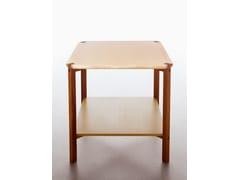 - Tavolino basso pieghevole quadrato in legno impiallacciato KASKAD - Karl Andersson & Söner