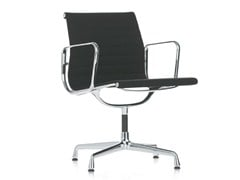 - Chair with 4-spoke base with armrests EA 107 - Vitra