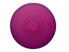 - Patterned wool rug ZOE | Round rug - Paola Lenti