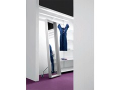 - Framed freestanding rectangular mirror EXTRA LARGE | Freestanding mirror - Kristalia