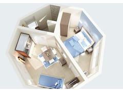 Arredamento per residence in stile modernoZEUS - MOBILSPAZIO