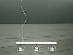 - Crystal pendant lamp WEDGE 3 L | Pendant lamp - LUCENTE - Gruppo Rostirolla