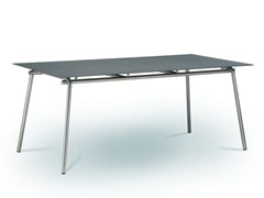 - Rectangular fm-ceramtop garden table TAKU | Rectangular table - FISCHER MÖBEL