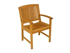 - Teak garden chair with armrests BURMA | Garden chair - FISCHER MÖBEL
