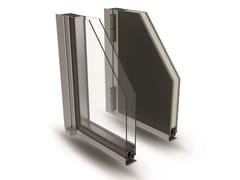 Portoncino alluminio a taglio termicoELITE DOOR 72 - ALSISTEM