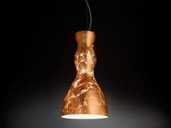 - Copper leaf pendant lamp SCHERZO | Pendant lamp - Metal Lux di Baccega R. & C.