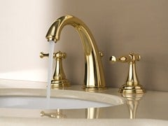 - 3 hole countertop washbasin tap LAUREN | Washbasin tap - Graff Europe West