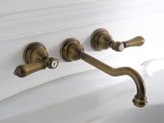 - 3 hole wall-mounted washbasin tap CANTERBURY | 3 hole washbasin tap - Graff Europe West