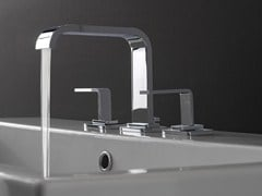 - 3 hole countertop washbasin tap IMMERSION | Washbasin tap - Graff Europe West