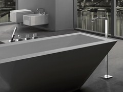 - Floor standing bathtub set with hand shower TARGA | Floor standing bathtub set - Graff Europe West