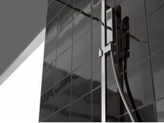 - Shower wallbar with hand shower with mixer tap TARGA   Shower wallbar - Graff Europe West