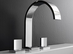 - 3 hole countertop washbasin tap SADE | Countertop washbasin tap - Graff Europe West