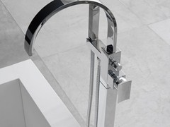 - Floor standing bathtub mixer with hand shower SADE | Floor standing bathtub mixer - Graff Europe West