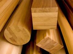 Componente in legno lamellareLegno lamellare con legni duri - SIMONIN