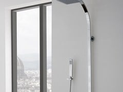 - Shower panel with overhead shower QUBIC | Shower panel with overhead shower - Graff Europe West