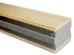 Pannello isolante autoportante in legnoSAPISOL® - SIMONIN