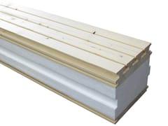 Pannello isolante autoportante in legnoSAPIPHONE® - SIMONIN