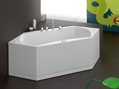 - Corner whirlpool bathtub URBAN-B | Corner bathtub - Glass 1989