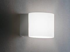 - Glass wall light BRICK | Wall light - Metal Lux di Baccega R. & C.