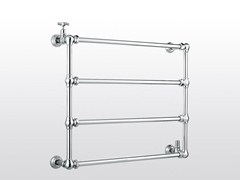 - Wall-mounted chrome towel warmer ROMA | 983B - RUBINETTERIE STELLA