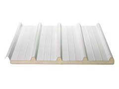 - Insulated metal panel for roof ISODECK 40 1000 - ISOPAN