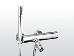 - Wall-mounted bathtub mixer with hand shower BAMBOO | 3267/306 - RUBINETTERIE STELLA