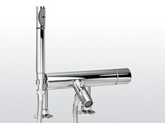 - 2 hole bathtub mixer with hand shower BAMBOO | 3267RG306 - RUBINETTERIE STELLA