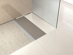 - Flush fitting tiled custom shower tray FUNDO RIOLITO NEO - Wedi Italia