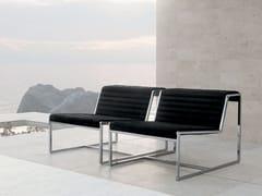 - Upholstered steel armchair ATLANTA | Armchair - ALIVAR