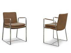 - Design chair with armrests SHINE | Chair with armrests - ALIVAR