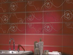 Double-fired ceramic wall tiles SILK - CERAMICHE BRENNERO
