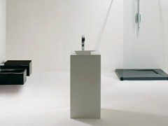 Freestanding ceramic washbasin OZ | Freestanding washbasin - GSG Ceramic Design
