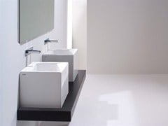 Countertop wall-mounted ceramic washbasin OZ 42 | Washbasin - GSG Ceramic Design