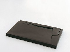 Rectangular ceramic shower tray OZ | Shower tray - GSG Ceramic Design