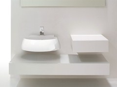 Wall-mounted ceramic washbasin DUNIA | Washbasin - GSG Ceramic Design